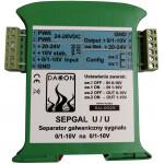 Separator Galwaniczny sygnału napięciowego 0/1-10V -  SEPGAL U/U