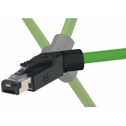 Wtyczka kątowa Profinet RJI RJ45 PN Kat.5, 4p IDC - 09451511121
