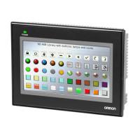 Panel HMI Omron - NB7W-TW01B
