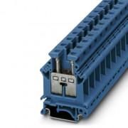 UK 16 N BU - Modułowy zacisk przepustowy 3006056