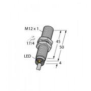 Czujnik, indukcyjny z rozszerzonym zakresem detekcji BI4-M12-AP6X, PNP, NO, M12, 4 mm, 2m, 4607006