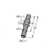 Czujnik, indukcyjny z rozszerzonym zakresem detekcji BI2-EG08-AP6X-V1131, PNP, NO, M8, 2 mm, M8, 4602050