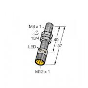 Czujnik, indukcyjny z rozszerzonym zakresem detekcji BI2-EG08-AP6X-H1341, PNP, NO, M8, 2 mm, M12, 4602060