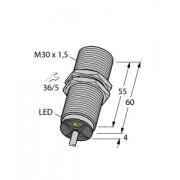Czujnik, indukcyjny z rozszerzonym zakresem detekcji BI15-M30-AP6X, PNP, NO, M30, 15 mm, 2m, 4618530